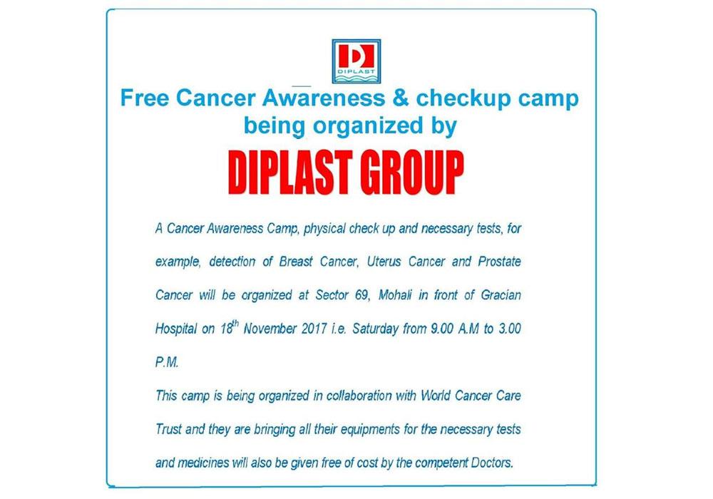 Free Cancer Awareness Camp And Checkup